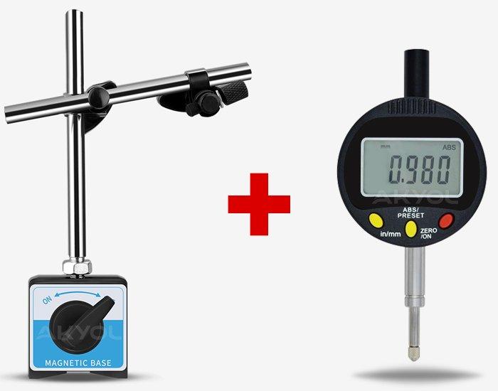 manyetik komparatör saat standı